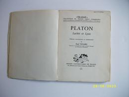 LACHES Et LYSIS 1963 - Oude Boeken