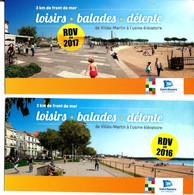 SAINT-NAZAIRE > 2 Cartes Projets Bd Wilson Et Place Commando - Saint Nazaire