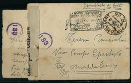 §  BUSTA PM 85 INTENDENZA A.S BENGASI  X MADDALONI NAPOLI § - War 1939-45