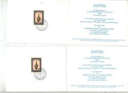 Carte De Voeux 1990 Cachet Geneve - Cartas