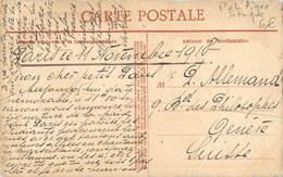 Carte Ecrite Le 11 Novembre 1918 Jour De L'Armistice - Satirique Camelot - Actions Mines De Houille - Eau Forte Revellat - Guerra 1914-18