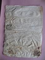 Vieux Papiers 1772 Village De Faugere Paroisse De BECELEUF 79 Deux Sevres Généralité POITIERS Recto Verso - Historical Documents
