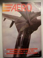 AERO  No20 / Force Aerienne Belge /  Dassault / F-111 / Pilote X15 / Morale Soulier MS 406 - Aviazione
