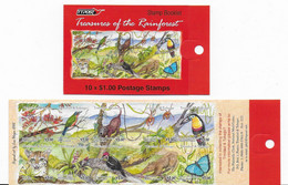 Trinidad Carnet Neuf Oiseaux , Mammifères , Orchidée Insecte 2002 - Papagayos