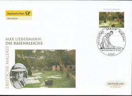2013 Deutschland Germany. Mi.2974 FDC  Deutsche Malerei: Die Rasenbleiche; Gemälde Von Max Liebermann - FDC: Enveloppes