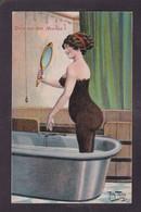 CPA THIELE Arthur Satirique Caricature Allemagne Germany Humour Humor Non Circulé Femme Nue Nude érotisme - Thiele, Arthur