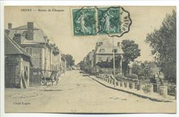 """CPA 58 IMPHY Route De Chazeau - Cachet Convoyeur """"Chagny à Nevers"""" - Other Municipalities"""