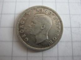 New Zealand 3 Pence 1943 - Nuova Zelanda