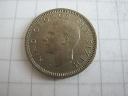 New Zealand 3 Pence 1952 - Nuova Zelanda