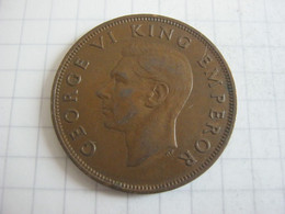 New Zealand 1 Penny 1947 - Nuova Zelanda