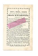 DD 626. MARIA KNAEPEN Echtg. J. Vroonen - °HORPMAEL 1819 En +GUTSCHOVEN 1886 - Devotion Images