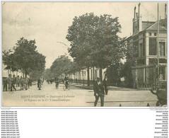 44 SAINT-NAZAIRE. Boulevard Leferme Et Agence Cie Transatlantique 1907 - Saint Nazaire