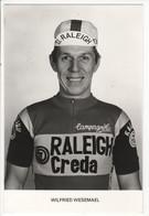 WILFRIED  WEZEMAEL  RALEIGH CREDA NOIR ET BLANC 1980 - Cycling