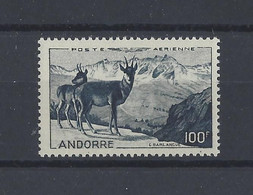 ANDORRE.  YT  PA N° 1  Neuf **   1950 - Poste Aérienne