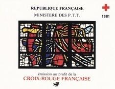France Carnet Croix Rouge 1981 - Neuf ** - SUPERBE - Rotes Kreuz