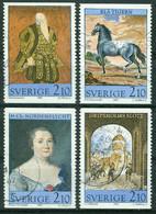 Bm Sweden 1987 MiNr 1446-1449 Used | 450th Anniv Of Gripsholm Castle - Gebraucht