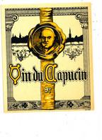 AN 1660 / ETIQUETTE  - VIN DU CAPUCIN  N° 579 - Altri