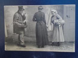 Carte Assez Rare , Costumes Sarthois , Recommendation Du Père Quéru - Andere Gemeenten