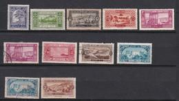Lt0164 GRAND LIBAN 1925 Timbre De La Série  9 Val. N & (O) - Gebraucht