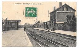 CPA 62 - CONCHIL LE TEMPLE (Pas De Calais) - LA GARE - Altri Comuni