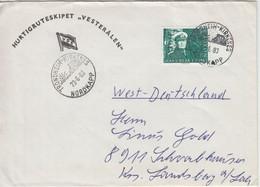 Norwegen - Schiffspost Trondheim Kirkenes Nordkap Hurtigruten Brief 1983 N. - Ganzsachen