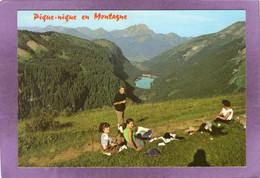 74 MORZINE Pique-nique En Montagne Le Lac De Montriond  Le Roc D'Enfer Col De La Joux Verte - Morzine
