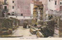 SIRACUSA-AVANZI DEL TEMPIO DI DIANA-CARTOLINA NON VIAGGIATATA -1905-1910 - Siracusa