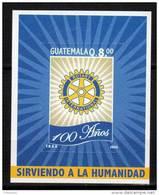 GUATEMALA - BLOC N° 37 ** (2005) Centenaire Du Rotary Club International - Guatemala