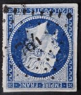 14Aa (cote 8 €) Obl PC 764 La Chataigneraie (79 Vendée ) Ind 4 - 1849-1876: Classic Period