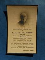 GENEALOGIE FAIRE PART DECES RELIGION RELIGIEUX ABBE PAGENAUD VIERZON CONCREMIERS CHATEAUMEILLANT BUSSY 1869 1945 - Avvisi Di Necrologio