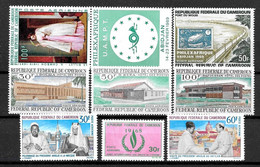 Afrique CAMEROUN :  Lot De Poste Aérienne En Neuf **  TB (cote 13,45 €) - Kameroen (1960-...)