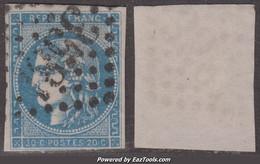 20c Bordeaux Type II Report 3 Aspect TB (Y&T N° 45C Cote 70€) - 1870 Bordeaux Printing