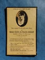 Image GENEALOGIE FAIRE PART DECES  COADOU ROIGNANT CLEDER 1904 1932 - Avvisi Di Necrologio