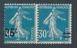 DX-237: FRANCE: Lot Avec 217i/217k * Se Tenant - Unused Stamps