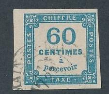 DX-240: FRANCE: Lot Avec Taxe N°8 Obl Signé Brun - 1859-1955 Gebraucht