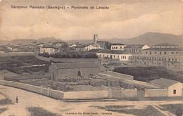 """012015 """"OLBIA - TERRANOVA PAUSANIA - PANORAMA DA LEVANTE"""" ANIMATA. CART  SPED 1913 - Olbia"""