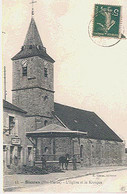 52 Biesles (Haute-Marne) - L'Eglise Et Le Kiosque - Sonstige Gemeinden