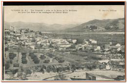 04  - PEYRUIS - Vue Générale Prise De La Route De La Brillanne - Au Fond Les MEES ... - Sonstige Gemeinden