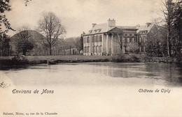 Environs De Mons  Château De Ciply. - Mons