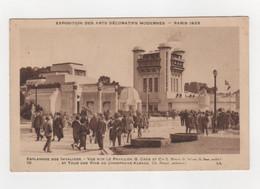 2 Cartes Postales - Exposition Des Arts Décoratifs Modernes - Paris 1925 - Exposiciones