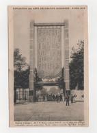 Cartes Postales - Exposition Des Arts Décoratifs Modernes - Paris 1925 - Porte D'Orsay - Exposiciones