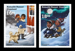 Greenland 2020 Mih. 871/72 Christmas (self-adhesive) MNH ** - Unused Stamps