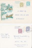 Suomi 0,10 - 0,20 - 0,80 - 0,90 On Posikortti - Postkort Finland - Entiers Postaux