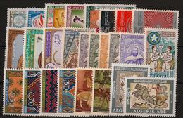 Algérie - Année Complète 1968 - N°Yv. 460 à 483 - Complet 24v - Neuf Luxe ** / MNH / Postfrisch - Algerije (1962-...)