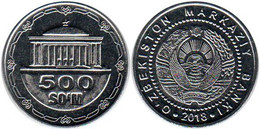 Uzbekistan 500 Som 2018 UNC Bank Bag - Uzbekistan