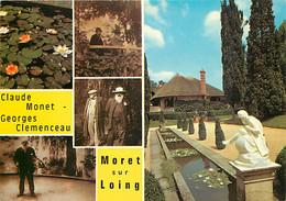 77 - Moret Sur Loing - La Grange Batelière - Maison Clemenceau - Multivues - Carte Neuve - CPM - Voir Scans Recto-Verso - Moret Sur Loing