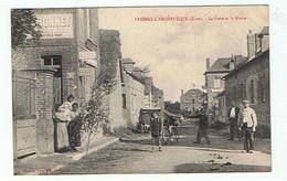 FRESNES L'ARCHEVEQUE * LA POSTE ET LA ROUTE * - Otros Municipios
