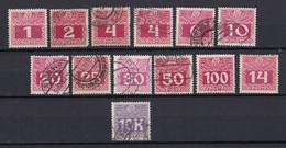Österreich - Portomarken - 1908 - Gestempelt/Ungebr. - Gebruikt