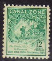 Panama - Canal Zone  (1949)-  Gold Rush Centenial -Neuf** - MNH - Canal Zone