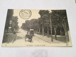 Le Mans–la Rue De Tessé-cachet:circuit De La Sarthe : 24 Et 25/7/1921 - Demonstrationen